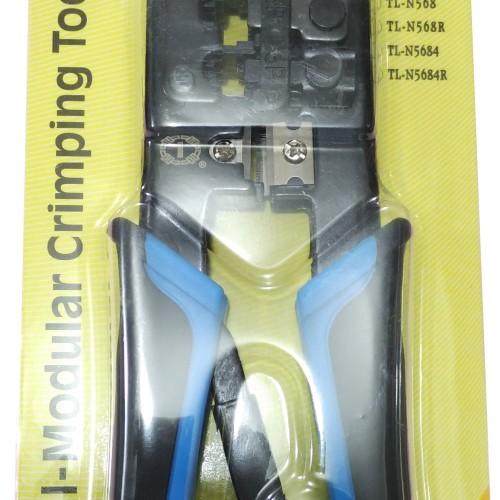 Foto Produk TANG CRIMPING RJ45 DAN RJ-11 TALON TL-568R dari Central Accessories Comp