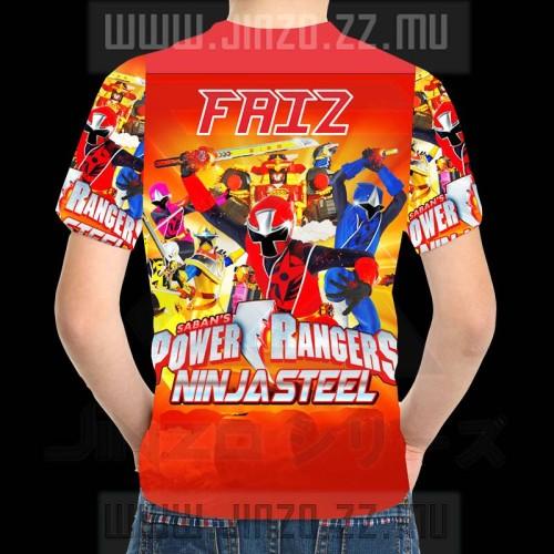 Foto Produk Kaos Anak power ranger 1 Dengan Nama dari Jinzo Series