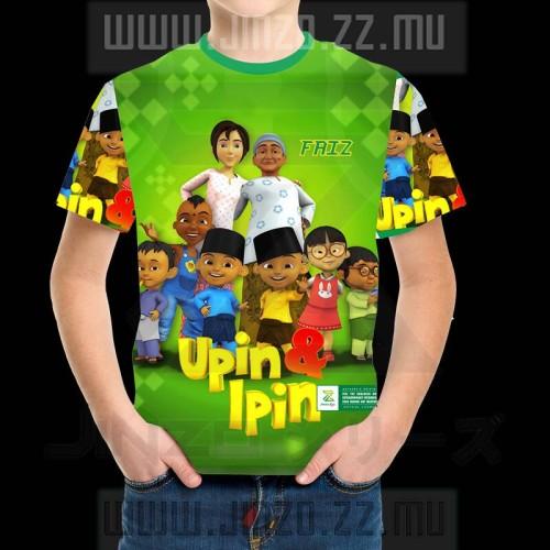Foto Produk Kaos Anak Upin dan Ipin 1 dari Jinzo Series