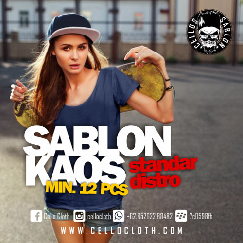 Foto Produk Sablon Kaos Distro dari Cello Cloth