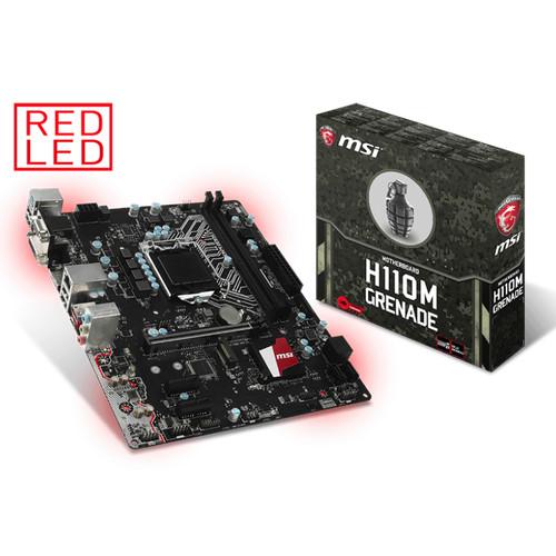 Foto Produk Motherboard MSI H110M GRENADE dari FCC Computer