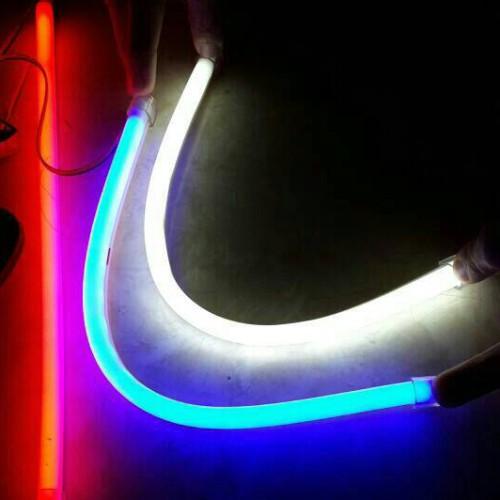 Foto Produk LED DRL Flexible 60CM Lampu Alis neon Motor Mobil Warna Warni MURAH!! - Putih dari GudangHID