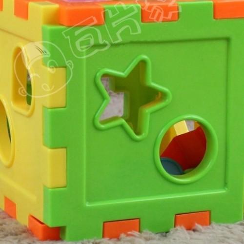 Foto Produk IQ Puzzle bentuk kotak / kubus / mainan anak edukatif dari AdoraShop
