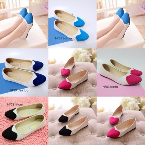 Foto Produk sepatu flat NF03 / flat shoes wanita nf03 - Fanta, 39 dari Elstore Bogor