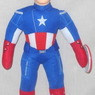 Foto Produk Boneka Super Hero Avenger Captain America Kids Boy Toys K521308 dari Super Hero City