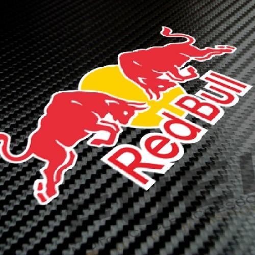 Foto Produk Sticker/Stiker RED BULL 01 untuk Helm atau Body Motor dari Fuel