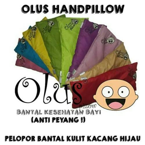 Foto Produk Olus Hand Pillow   Bantal Lengan   Bantal Kulit Kacang Hijau dari Griya Belanja Husnaa