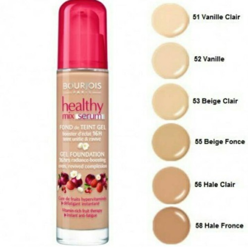 Foto Produk BOURJOIS HEALTHY MIX SERUM GEL FOUNDATION VANILLE 52 dari pwbeautystore