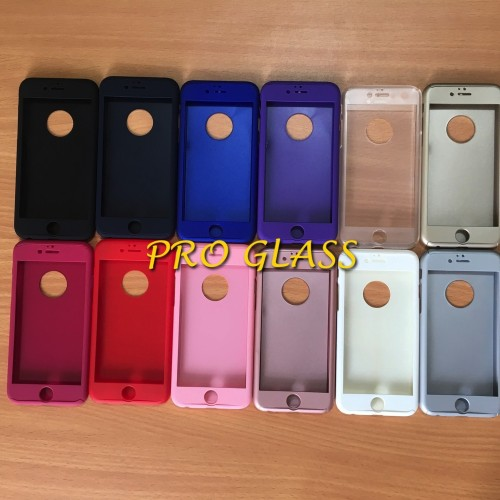 Foto Produk Iphone 6 / 6s 360 full protection Neo Hybrid case + Tempered Glass dari Pro Glass