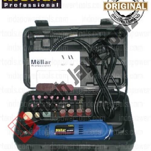 Foto Produk Mini Die Grinder Set 40 Pcs Mollar / Tuner Set / Gerinda Bor Mini dari Indah Jaya Tools