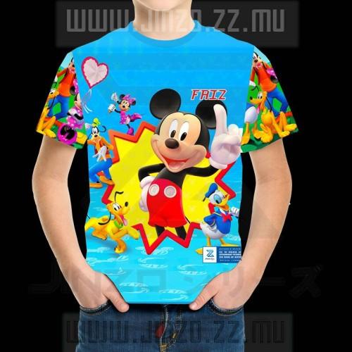 Foto Produk Kaos Anak Dengan Nama Disney Mikey Mouse Club House 1 dari Jinzo Series