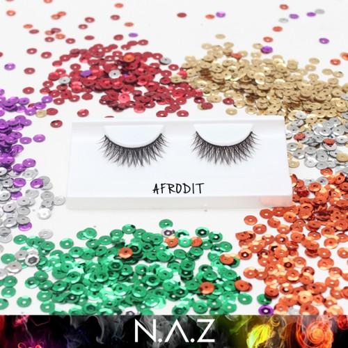 Foto Produk Bulu Mata Palsu Kualitas Ekspor NAZ Eyeleshes Afrodit dari Teh Lumpur