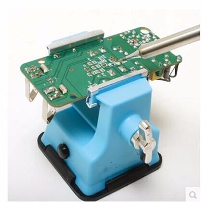 Foto Produk SALE!!- Pegangan Catok PCB Solder Goot Plastic Mini Bench Vise ST-80 dari Gudang On Line