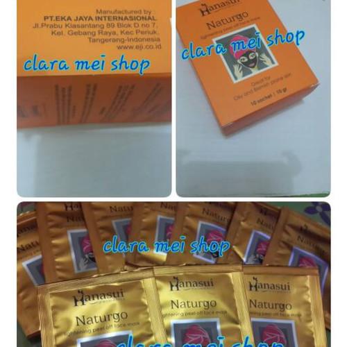 Foto Produk Naturgo Mud Mask (Penghilang Komedo Paling Ampuh) Per Box Isi 10 Pc dari Mall Clara Mei (grosir)