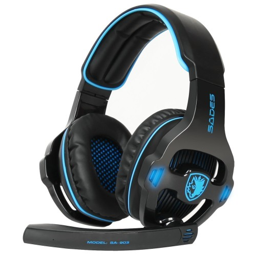 Foto Produk Sades Gaming Headset SA - 903 dari COC Komputer