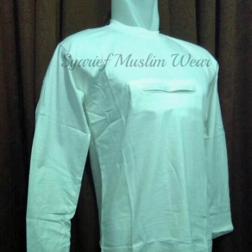 Foto Produk Kaos Haji/Umrah Pria Lengan Panjang - Exclusive dari Syarief Muslim Wear