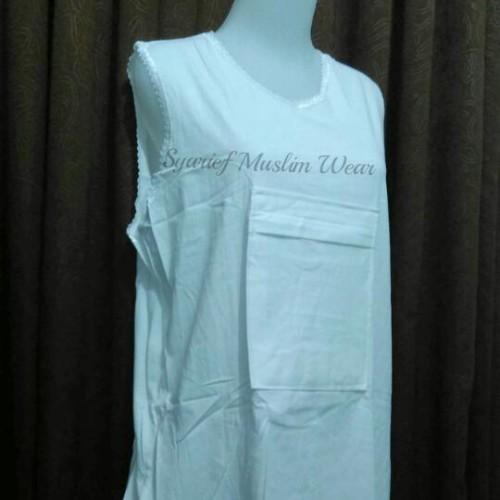 Foto Produk Kaos Singlet Haji/Umrah Wanita dari Syarief Muslim Wear