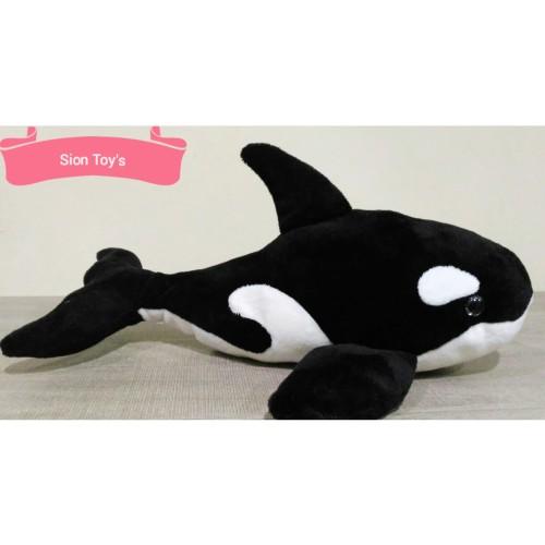 Foto Produk Boneka Ikan Paus Orca (Orca Whale) dari Sion Toys