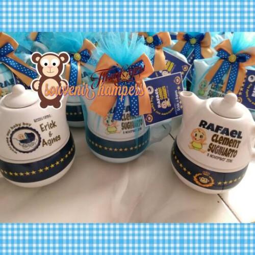 Foto Produk teko susun#teko ulir#hampers#souvenir ultah dari Chloe boetik