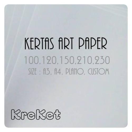 Foto Produk Kertas Art Paper 120g Plano 65x100cm dari Kreatifitas-Keterampilan