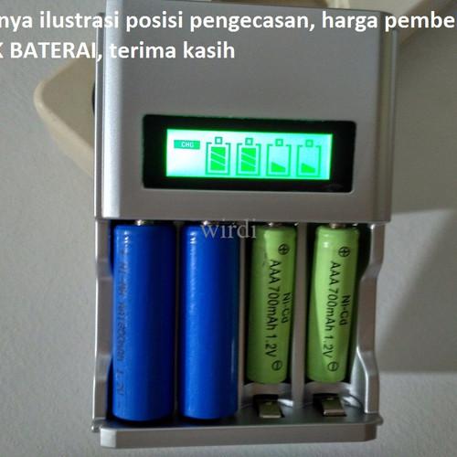 Foto Produk C903 Charger with DISPLAY 4 in 1 pengecas baterai AA/AAA rechargeable dari wirdi