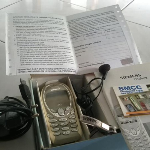 Foto Produk Siemens A52 Normal&Fullset/Bukan Iphone Android Samsung Nokia dari jadul shop-A1