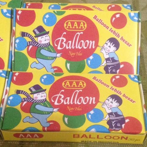 Foto Produk Balon Tiup Sedotan AAA. Mainan Anak Era 90-an dari Sportsite