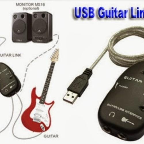 Foto Produk USB GUITAR LINK CABLE / USB GITAR BISA RECORDING DI LAPTOP / PC / MAC dari VN STORE ONLINE