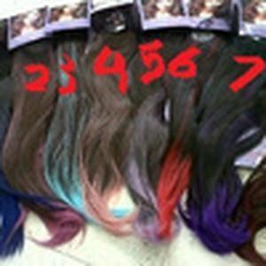 Foto Produk HAIRCLIP OMBRE LURUS / HAIR CLIP GRADASI WARNA dari ingesdq