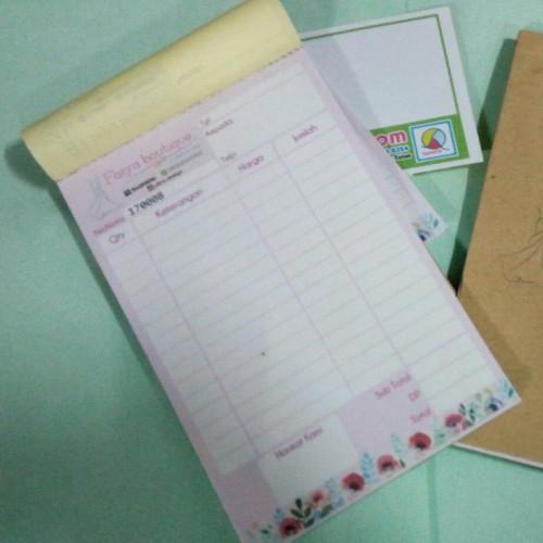 Foto Produk Cetak Nota Warna (Nota Carbonless Full Color - 2 ply) Custom Design dari KamehaShop.com