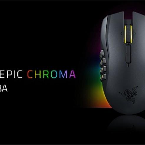Foto Produk Razer Naga Epic CHROMA - Wired/Wireless MMO Gaming Mouse dari STORE APPAREL GAMING