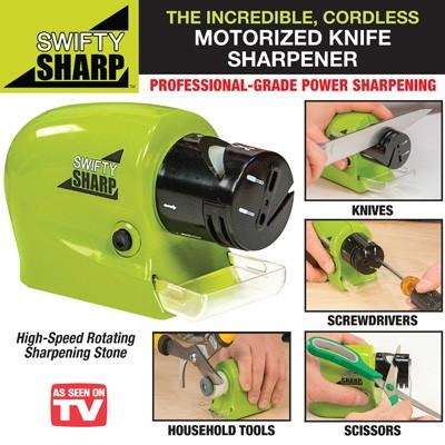 Foto Produk Swifty Sharp / Asahan Pisau Otomatis / Motorized Knife Sharpener dari Green Cosme
