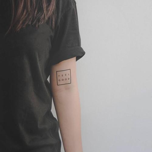 Foto Produk Lolitattoo Temporary Tattoo Feel Good dari Lolitattoo Shop