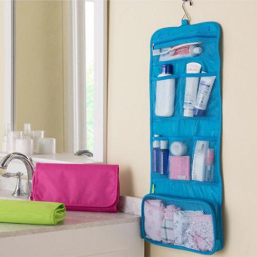 Foto Produk #109 New Travel Toiletries Bag tas traveling - Fuchsia dari laris_88 computer