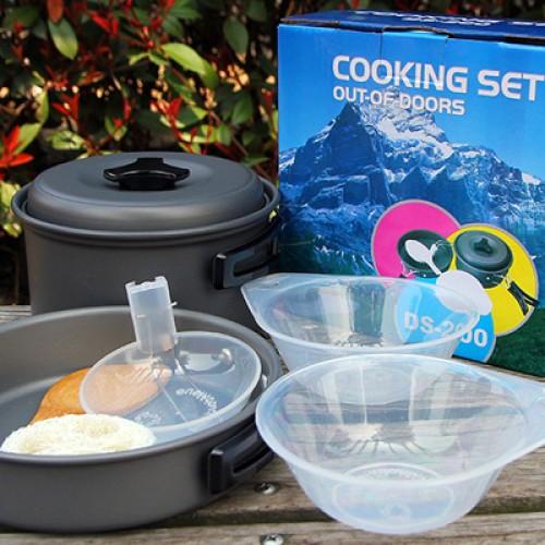 Foto Produk Cooking set DS 200/alat memasak camping dari BAROKAH OUTDOOR JOGJA
