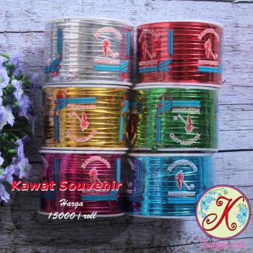 Foto Produk Kawat Souvenir / Tali Kawat - Emas dari Kutique Craft