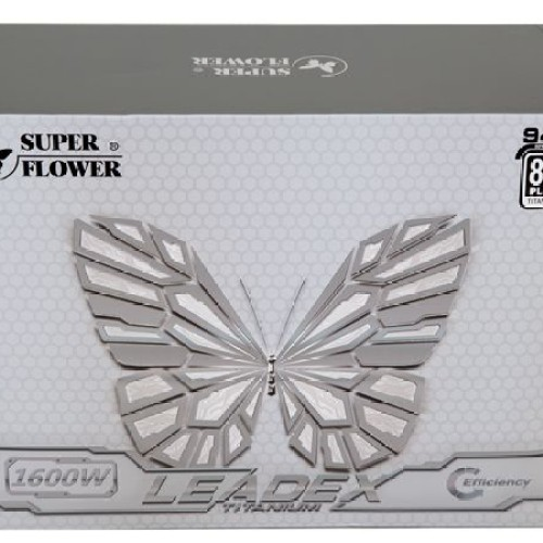 Foto Produk Super Flower Leadex Titanium 1600W - SF-1600F14HT - 80 PLUS TITANIUM dari SINYAL RUPIAH