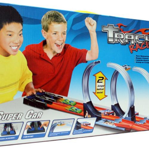 Foto Produk Mainan Anak Hotwheels Track Halilintar 2 Jalur Track Hot Wheels Car dari Toko DnD