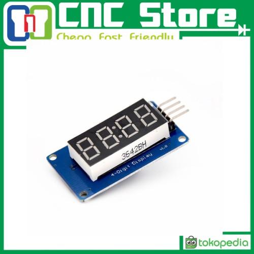 Foto Produk [CNC] TM1637 4 Bits Digital Tube LED Display Module With Clock Display dari CNC STORE YOGYAKARTA