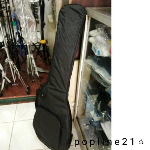 Foto Produk Tas Gitar Listrik / Softcase Electric Guitar STANDARD - Polos dari Popline21