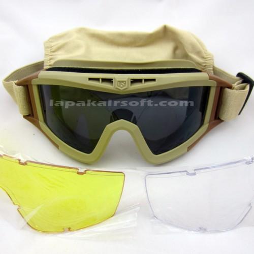 Foto Produk GOGGLES REVISION 3 LENSA / Kacamata Airsoft dari Lapakairsoft