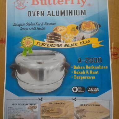 Foto Produk oven baking pan buterfly tebel + termometer dari majdi syarif