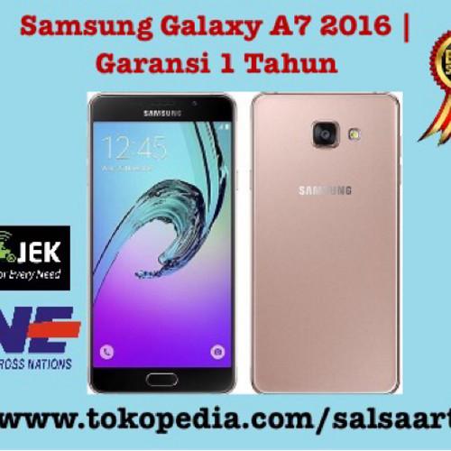 Foto Produk Samsung Galaxy A7 2016 | 3GB | 13MP |16GB up 128| 5,5 dari SALSA ART OFFICIAL SHOP