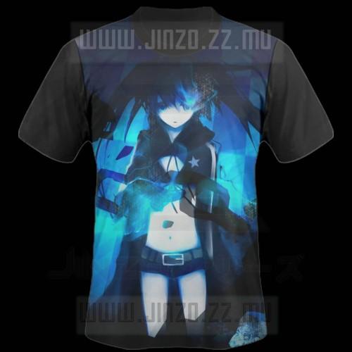 Foto Produk Kaos Anime Black Rock Shooter 2 BRS dari Jinzo Series