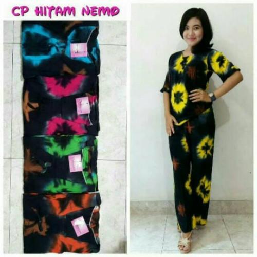 Foto Produk Setelan batik pekalongan / babydoll murah / baju tidur dewasa / daster dari RisqianaBatik