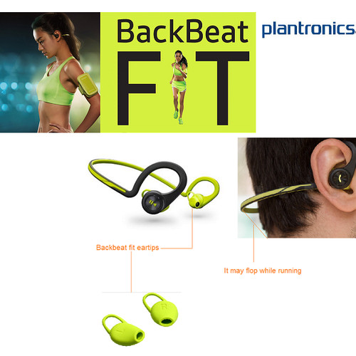 Foto Produk Plantronics Stereo Bluetooth Headset Backbeat Fit - Original dari My Styl3