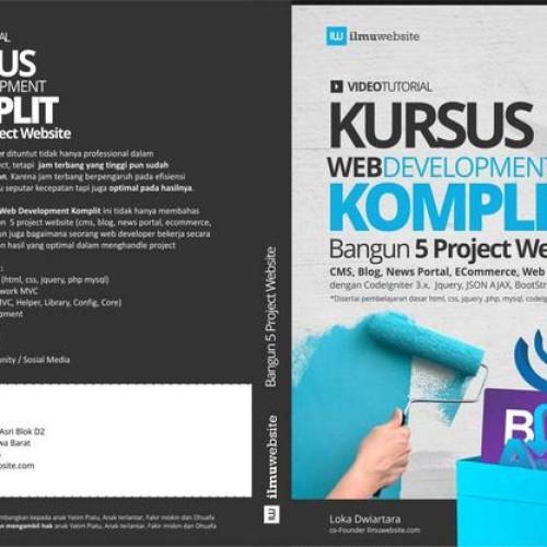 Foto Produk KURSUS WEB DEVELOPMENT KOMPLIT dari Tutorial Pemrograman