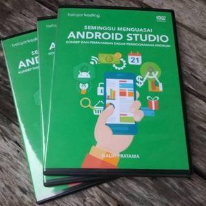 Foto Produk Tutorial Seminggu Menguasai Android Studio dari Tutorial Pemrograman