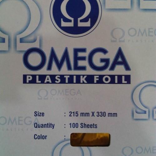 Foto Produk Omega Foil Plastik Emas - Gold Emas dari Toko Mitra Sukses