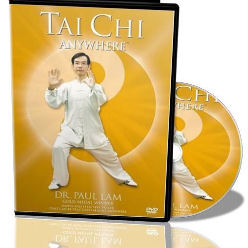 Foto Produk Tai Chi AnyWhere - DR. Paul Lam | Video Gerakan Tai Chi Yang Moderat  Dan Lembut Untuk Meningkatkan Kesehatan Dan Prestasi dari Tokobukuplus